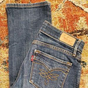 Levi 525 Perfect Waist Jeans 4 Short